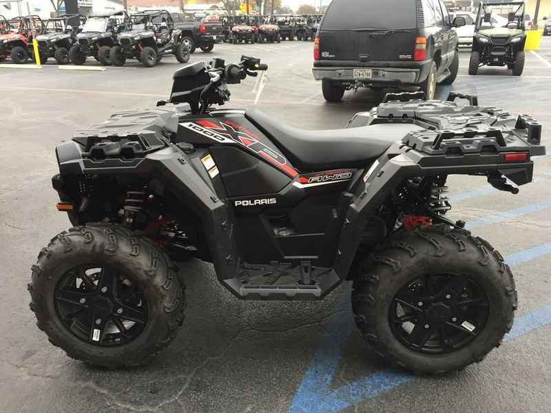 new 2017 polaris sportsman xp 1000 stealth black atvs for sale in texas on atv trades. Black Bedroom Furniture Sets. Home Design Ideas