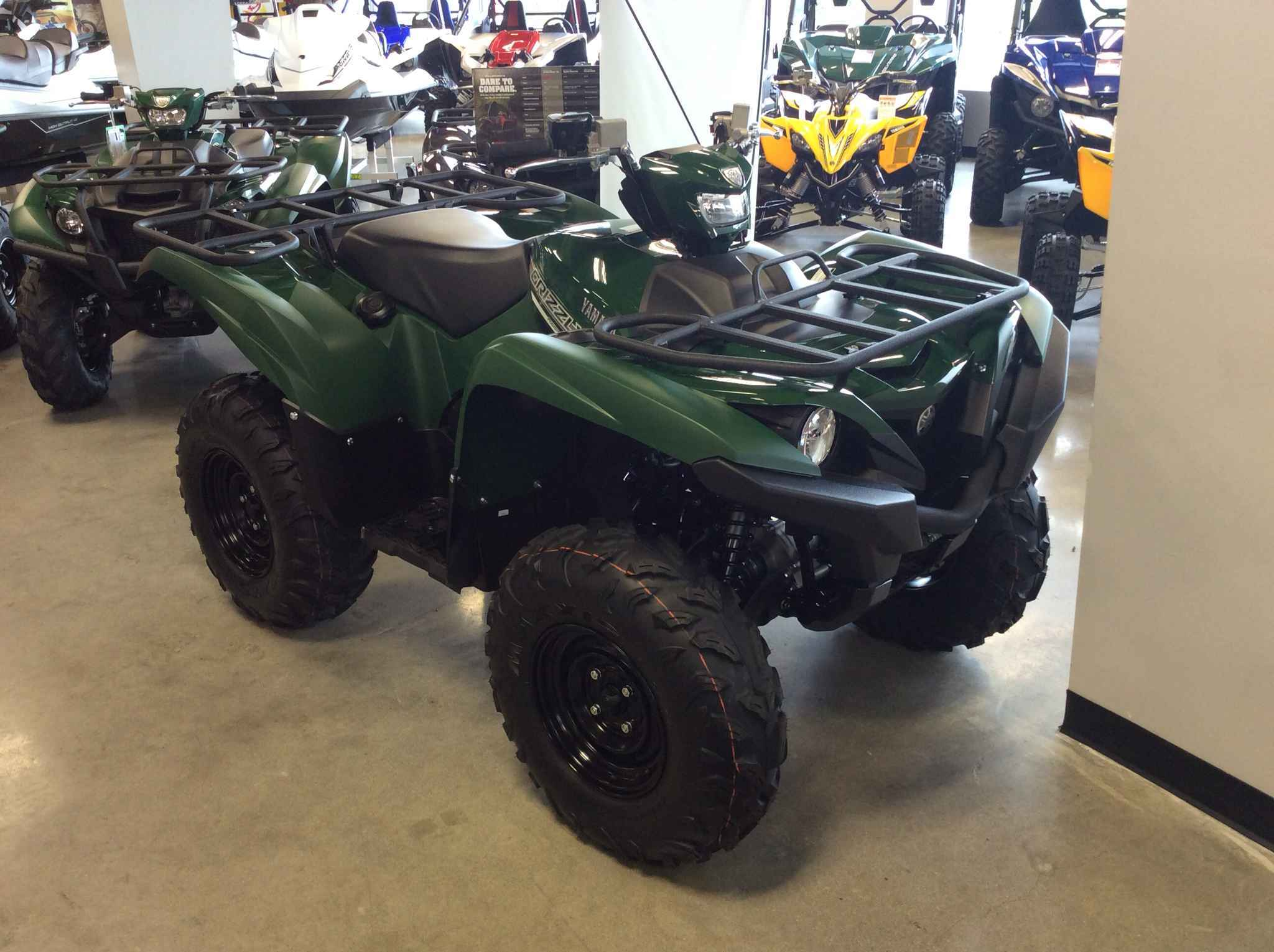 New 2017 Yamaha Grizzly 700 Eps Atvs For In Jersey 9 699