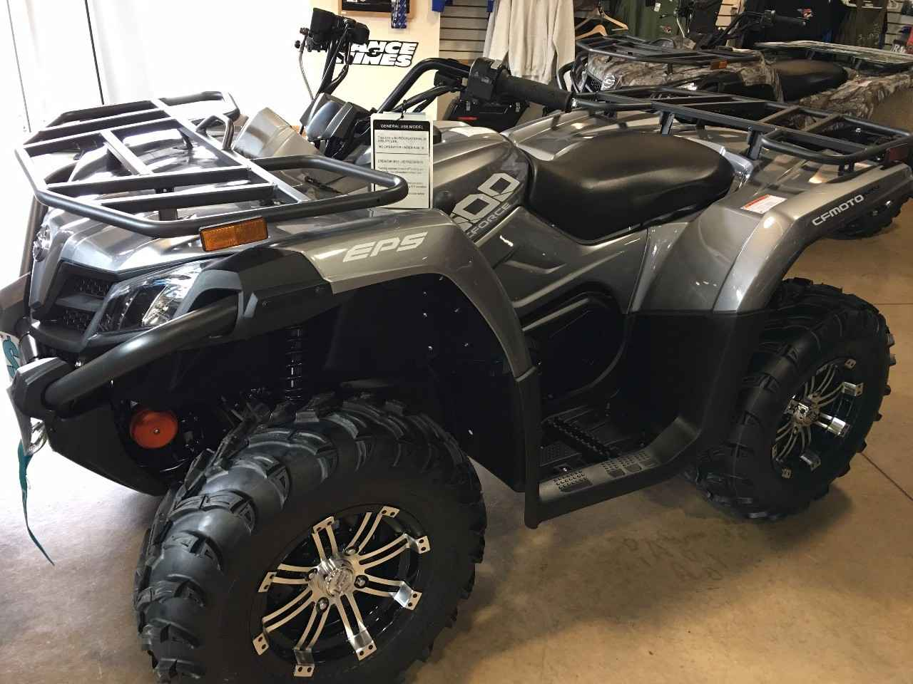 ATV CF MOTO: types, models, features and reviews of owners 69