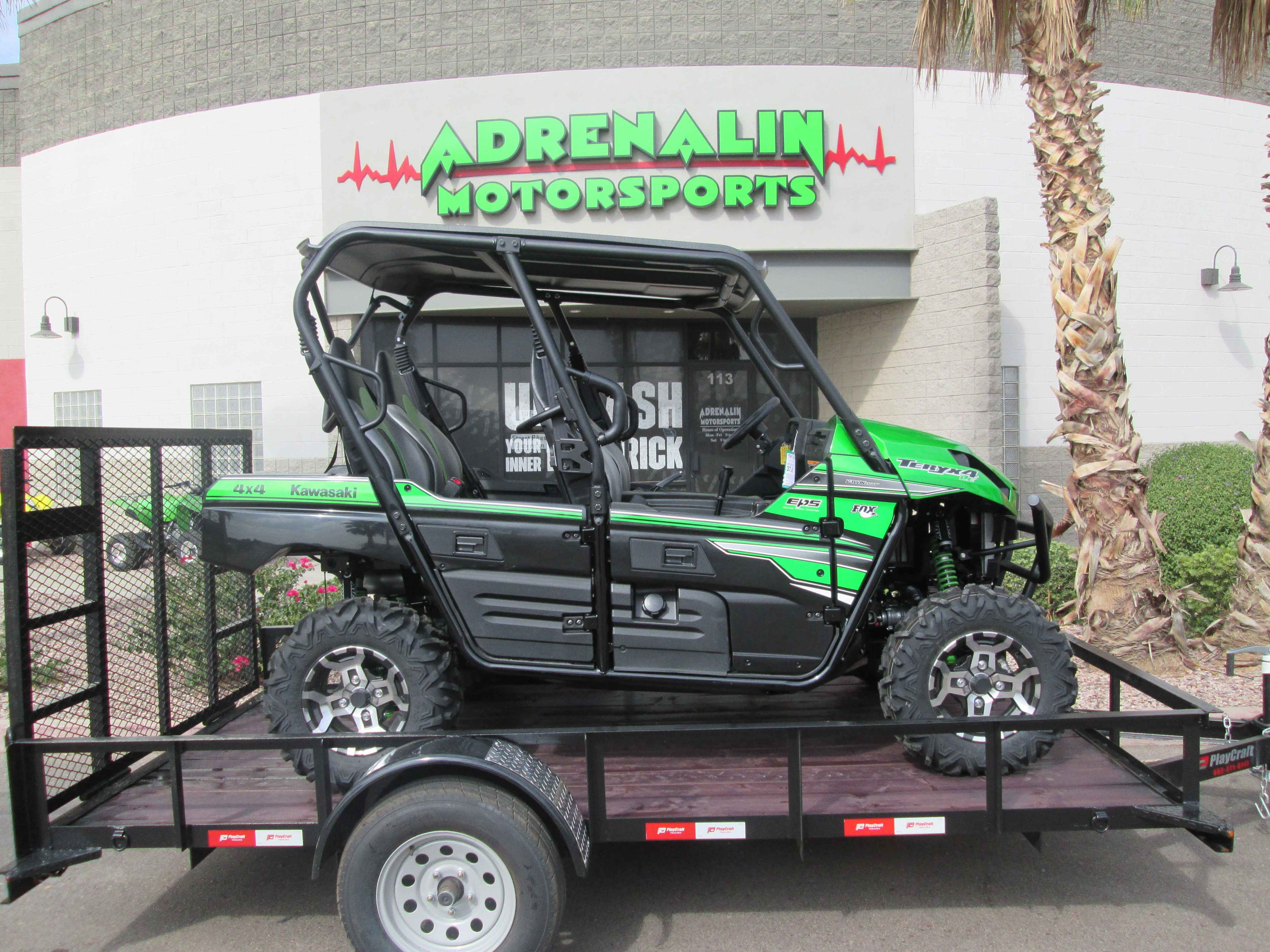 new 2018 kawasaki teryx 4 buy teryx or teryx 4 and ge atvs for sale in arizona on atv trades. Black Bedroom Furniture Sets. Home Design Ideas