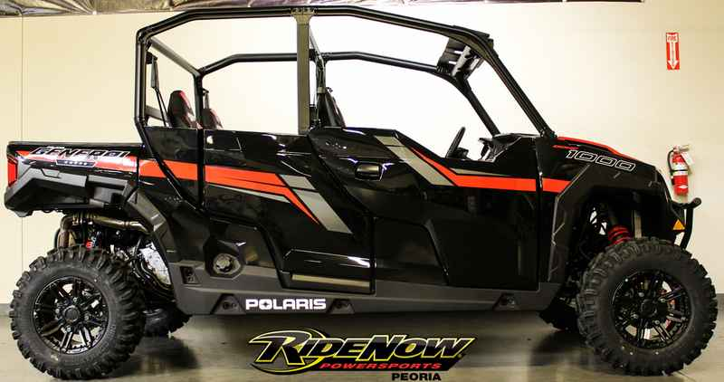 new 2018 polaris general 4 1000 eps black pearl atvs for sale in arizona on atv trades. Black Bedroom Furniture Sets. Home Design Ideas