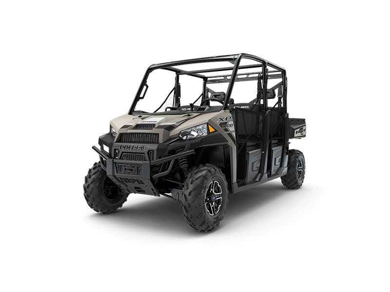 new 2018 polaris ranger crew xp 1000 eps suede metallic atvs for sale in california on atv trades. Black Bedroom Furniture Sets. Home Design Ideas