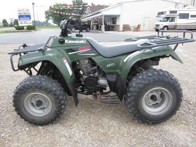 Used 0 Kawasaki Bayou 220 ATVs For Sale in Indiana on ATV Trades