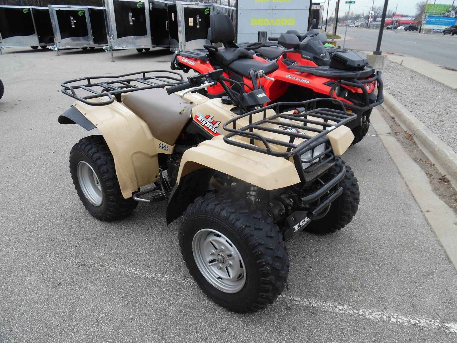 Used 1990 Yamaha Big Bear 350 4x4 Atvs For Sale In