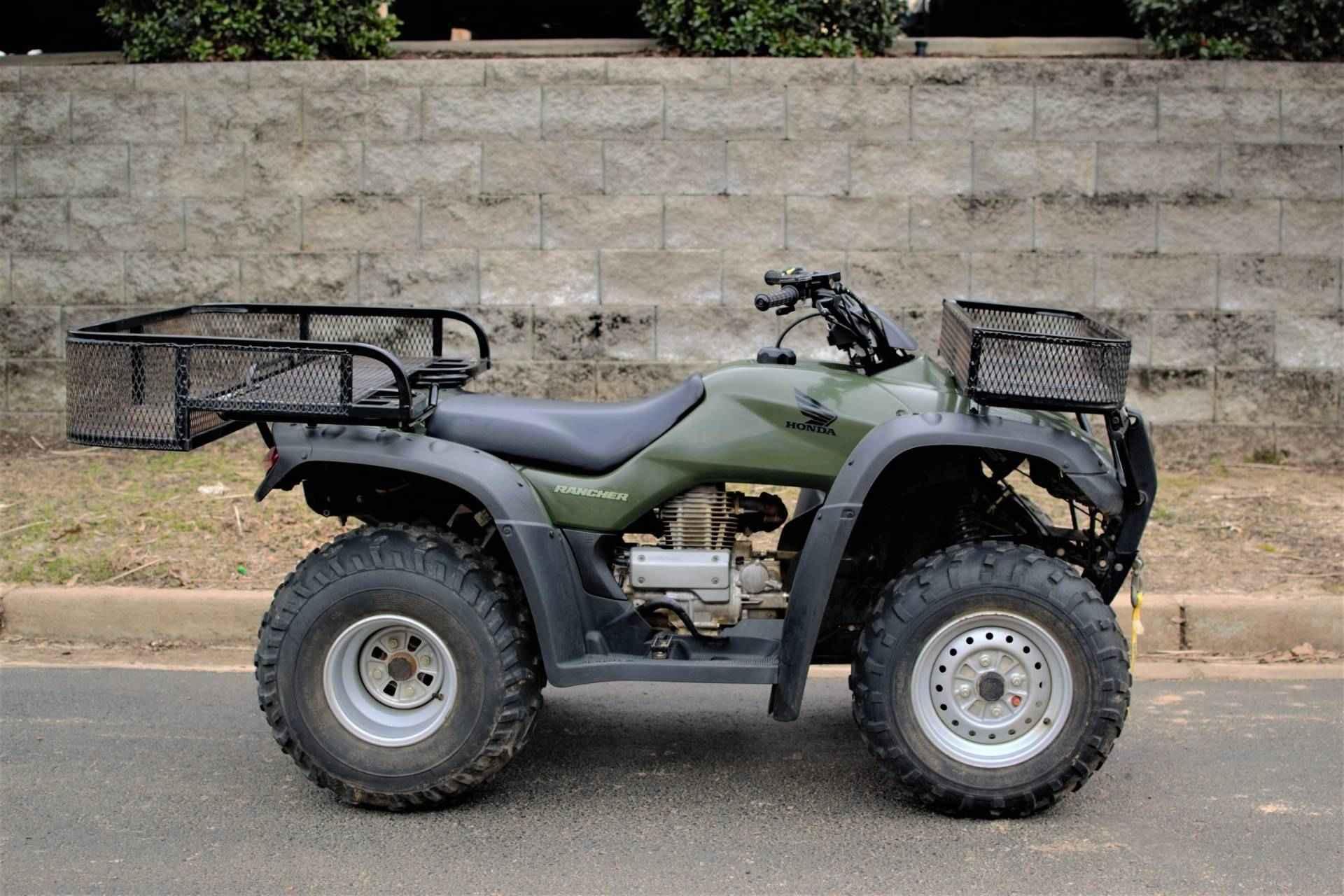 Used 2005 Honda Fourtraxa Ranchera Atvs For Sale In Mississippi On Atv Trades