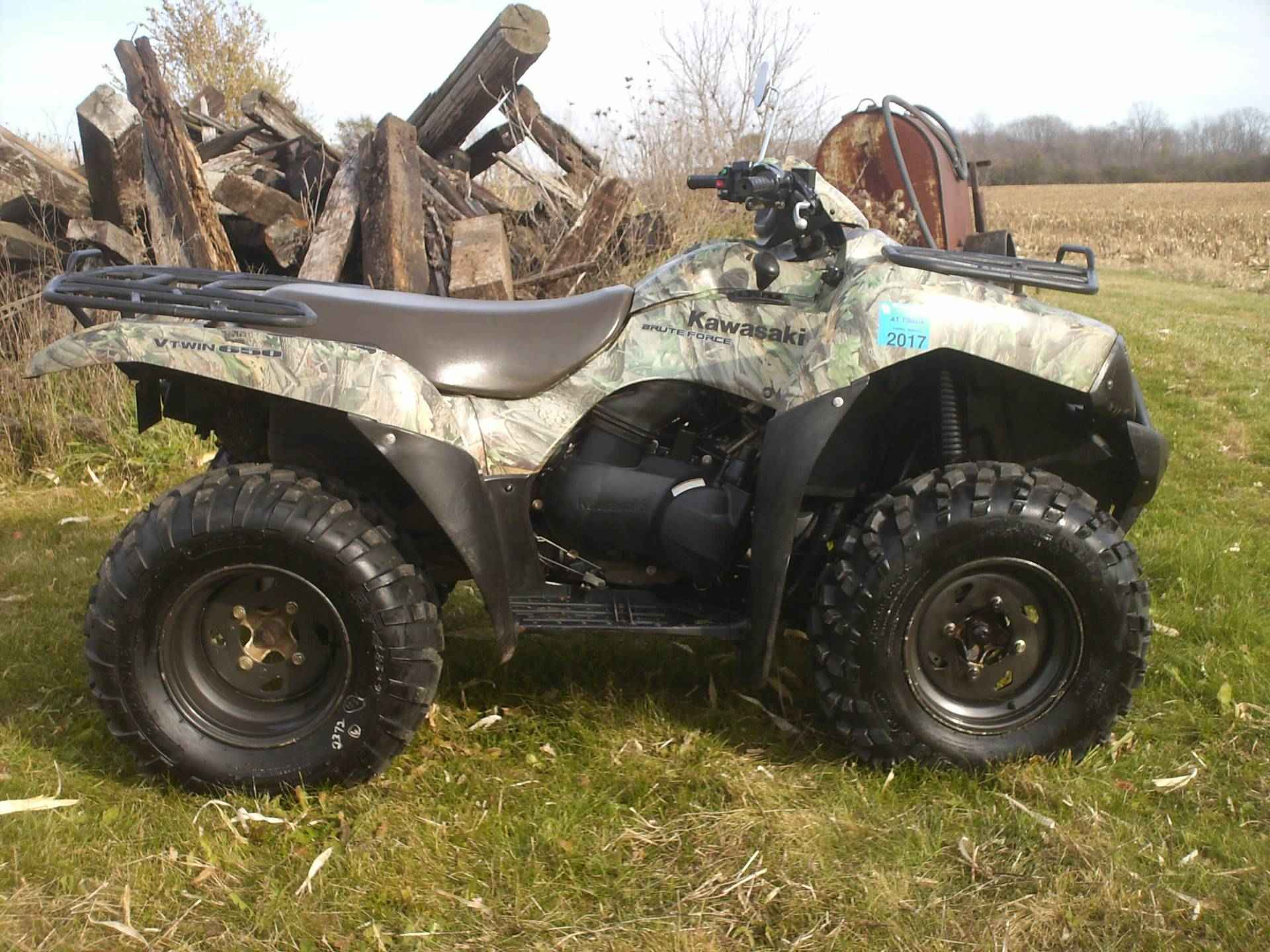 "Used 2007 Kawasaki Brute Forceâ""¢ 650 4x4 ATVs For Sale in Wisconsin ..."