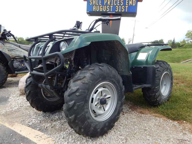 Used 2007 Yamaha Grizzly 350 2x4 ATVs For Sale in Wisconsin on ATV ...