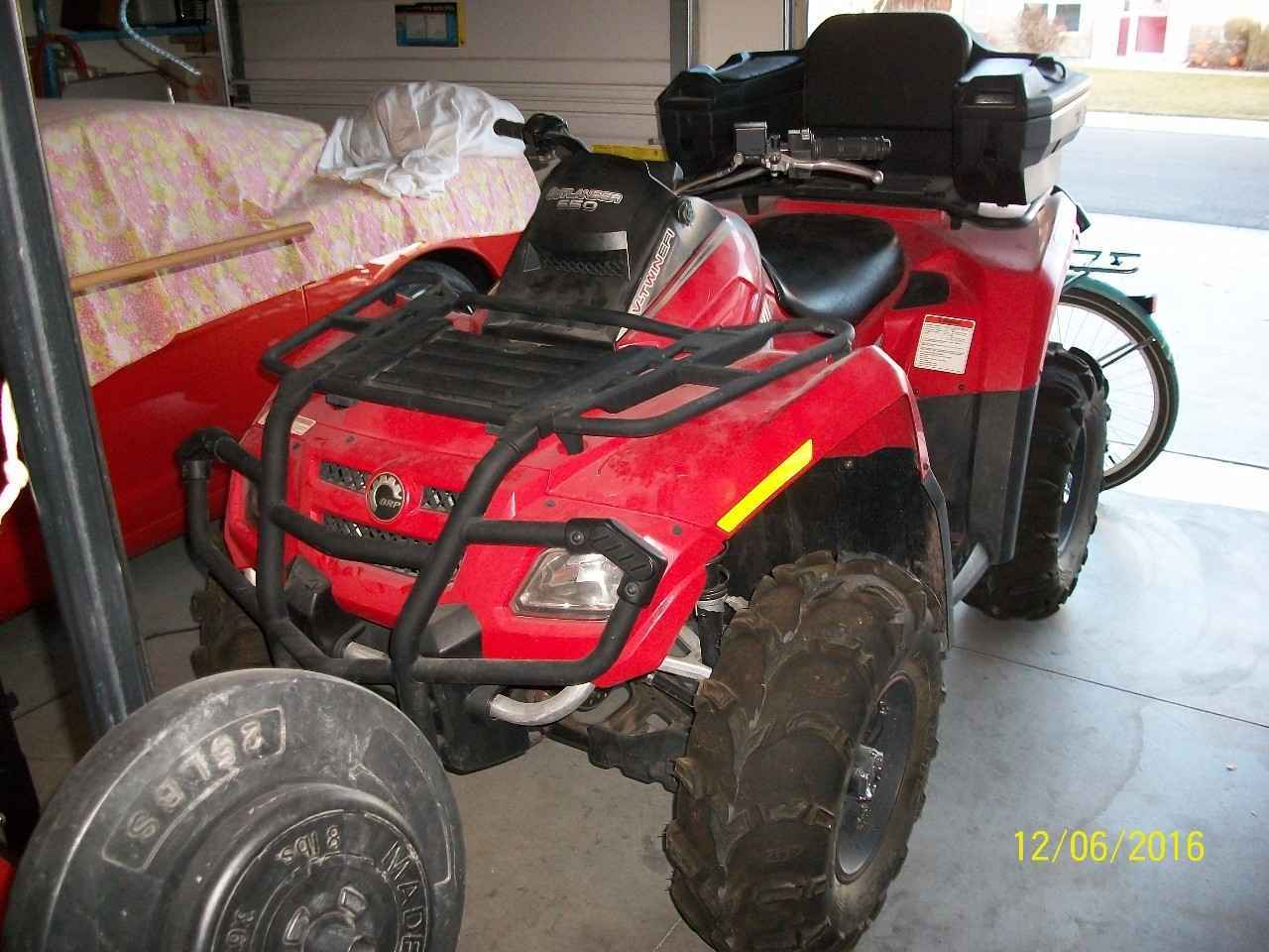 Used 2008 Can Am Outlander 650 H O Efi Atvs For Sale In Colorado On Atv Trades