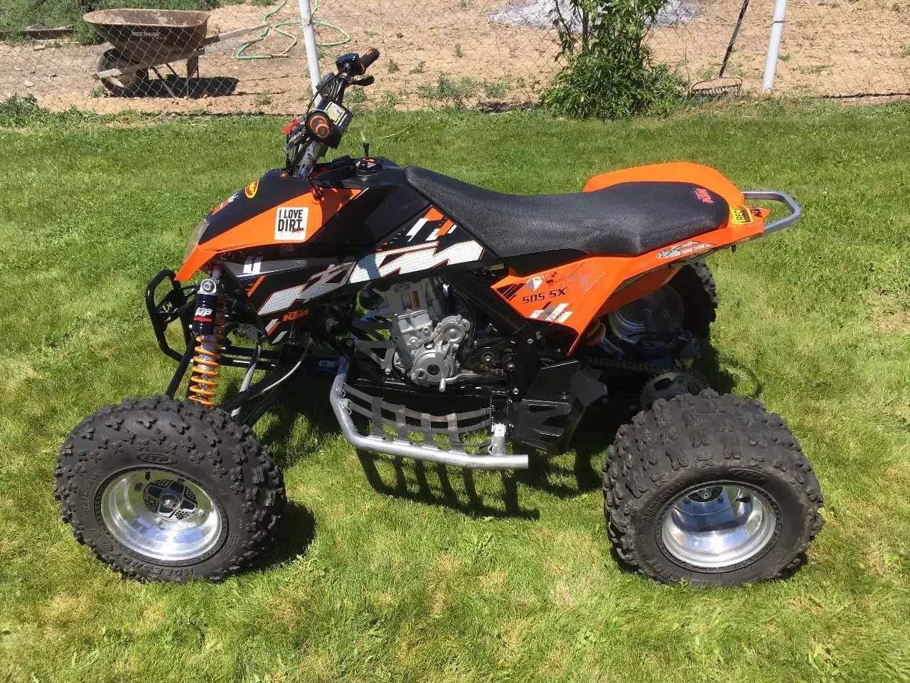 Used 2009 KTM 505 SX ATVs For Sale in Utah on ATV Trades