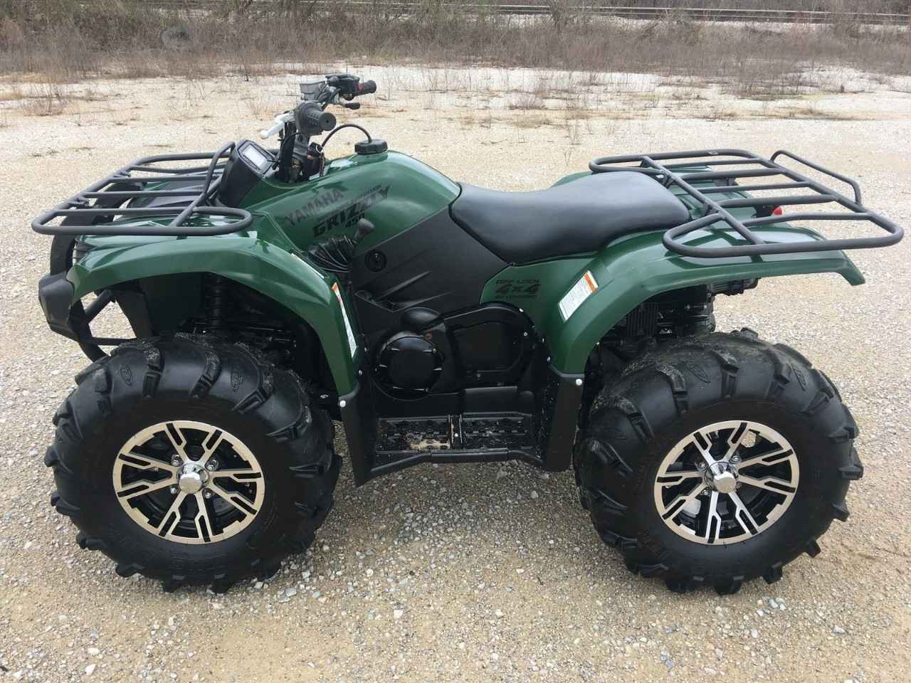 Used 2010 yamaha grizzly 450 auto 4x4 atvs for sale in new for Yamaha atv for sale used
