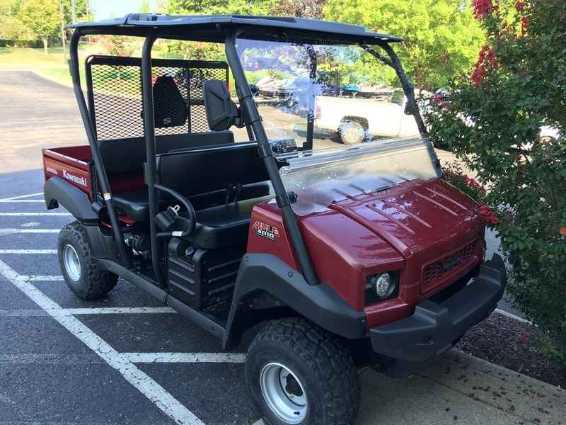 used 2011 kawasaki mule 4010 trans4x4 atvs for sale in tennessee on atv trades. Black Bedroom Furniture Sets. Home Design Ideas