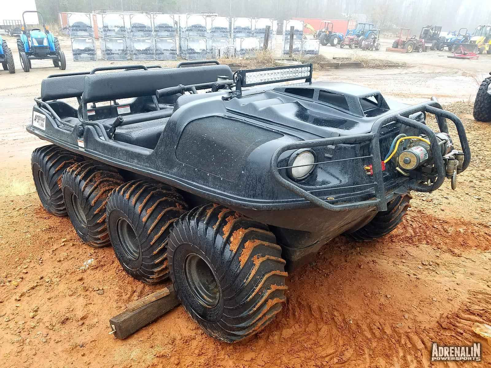Used 2012 Argo 8X8 750 HDi Black ATVs For Sale in Georgia ...