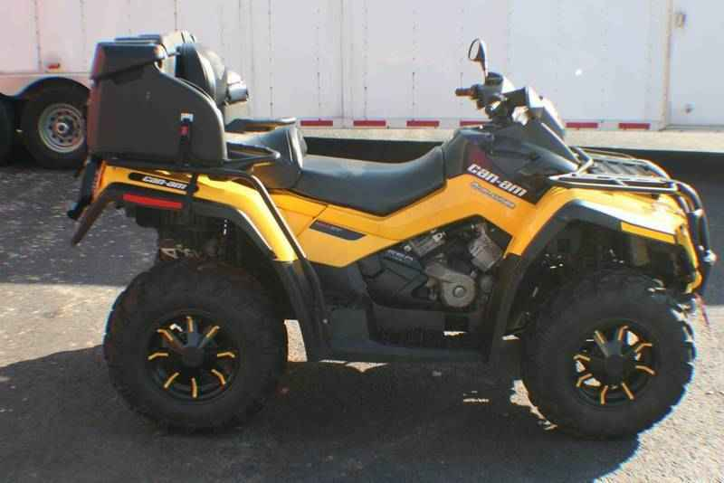 Used 2012 Can Am Outlander Max Xt P 650 Atvs For Sale In