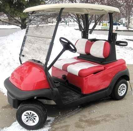 used 2012 gsi 48v club car precedent golf cart w golf ball seats atvs for sale in illinois on. Black Bedroom Furniture Sets. Home Design Ideas