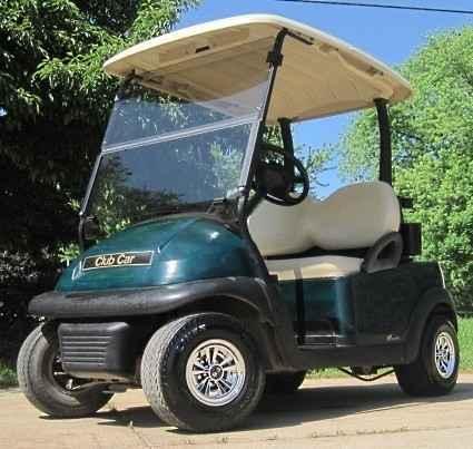 Used 2012 Gsi Club Car Precedent Electric 48v Golf Cart ...
