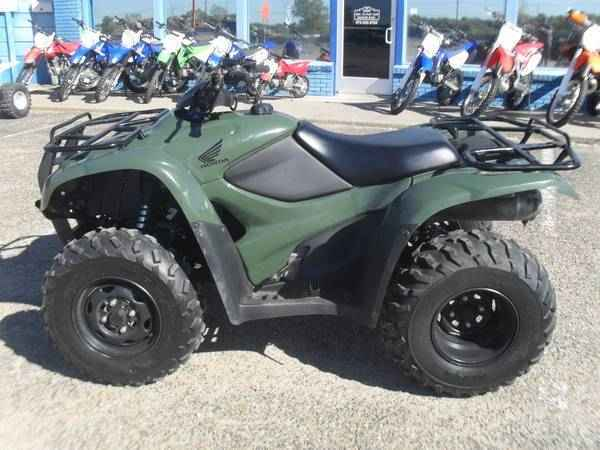 used 2012 honda fourtrax rancher 2x4 es atvs for sale in texas on atv trades. Black Bedroom Furniture Sets. Home Design Ideas
