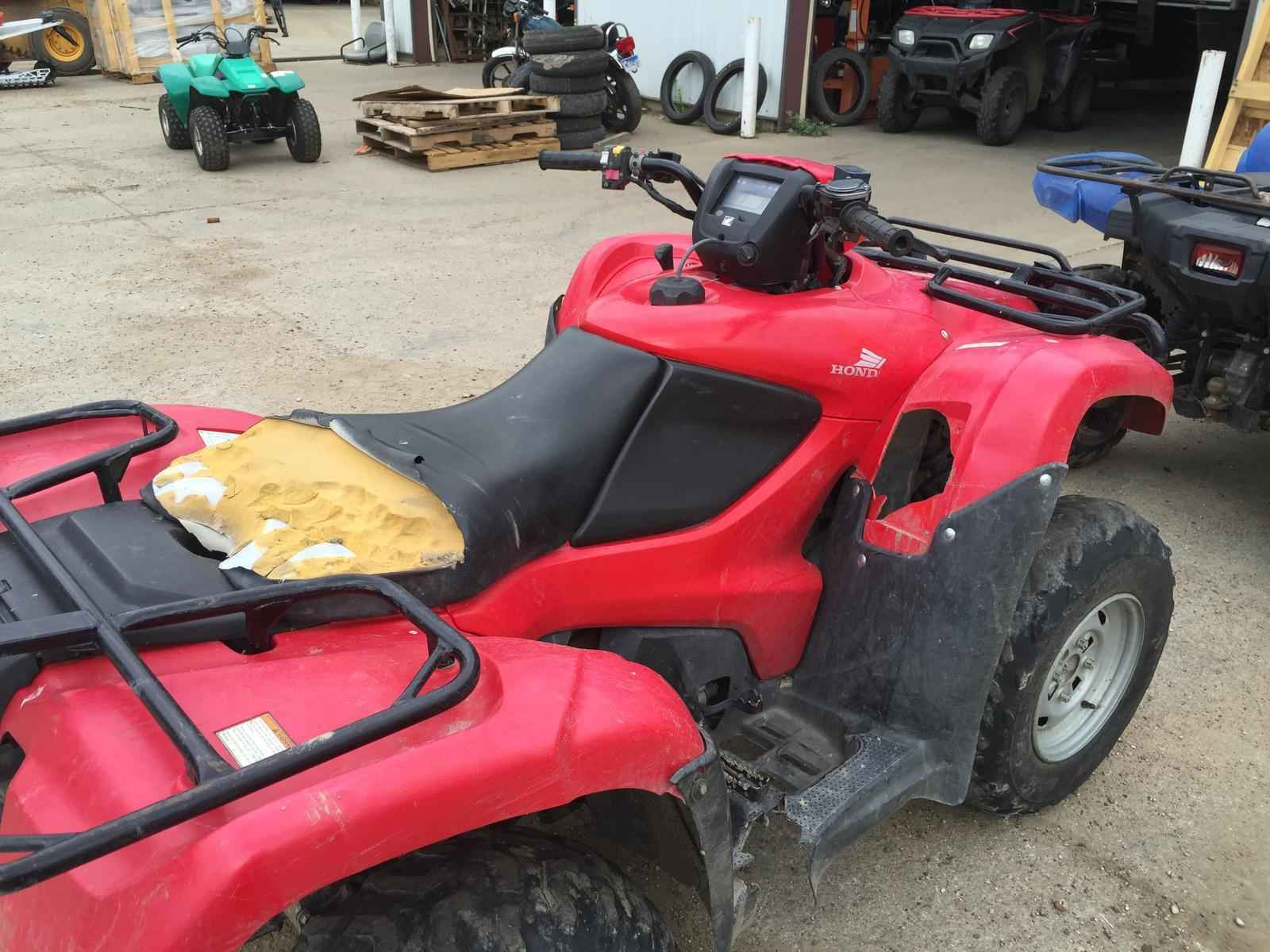 Used Honda Four Wheelers For Sale >> Used 2012 Honda Foreman 4x4 Atvs For Sale In South Dakota On Atvtrades Com