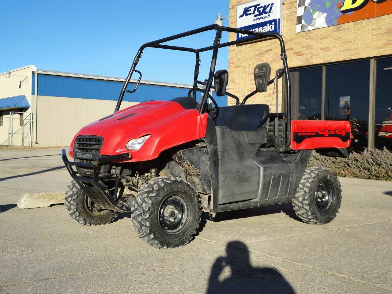used 2012 honda muv 700 big red atvs for sale in nebraska on atv trades. Black Bedroom Furniture Sets. Home Design Ideas