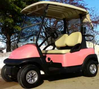 Used 2012 Texas Carts 48v Pink Panther Club Car Precedent