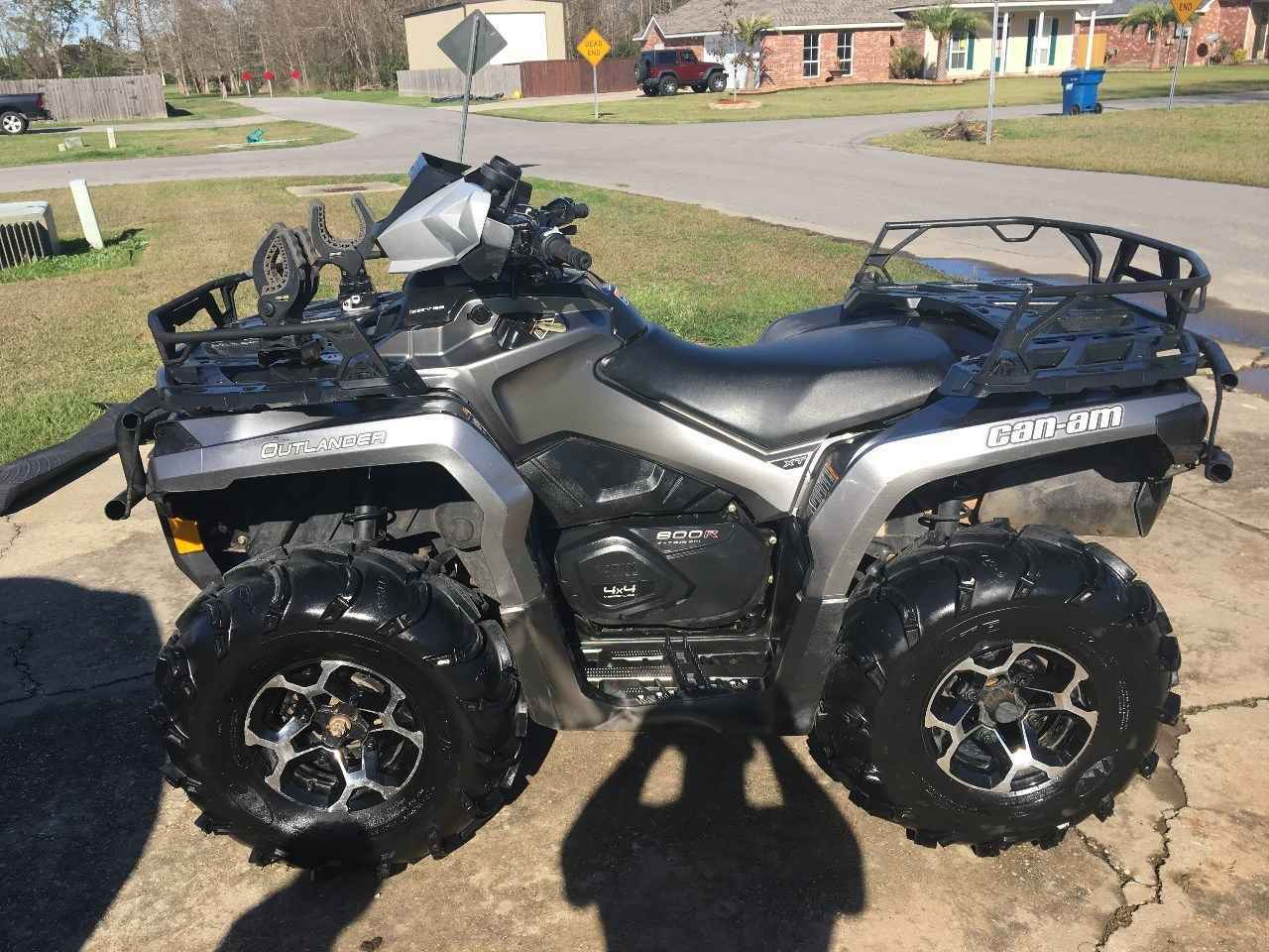 Used 2013 Can Am Outlander Xt 800 Atvs For Sale In Louisiana On Atv Trades
