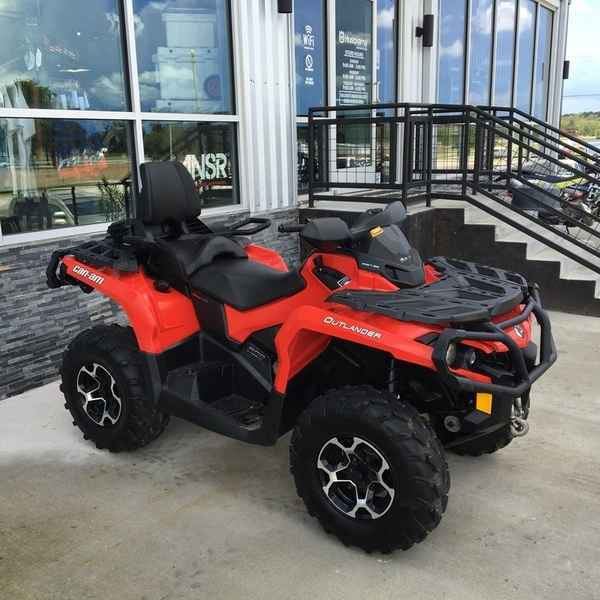 Used 2013 Can Am Outlander Max Xt 500 Atvs For Sale In Texas On Atv Trades