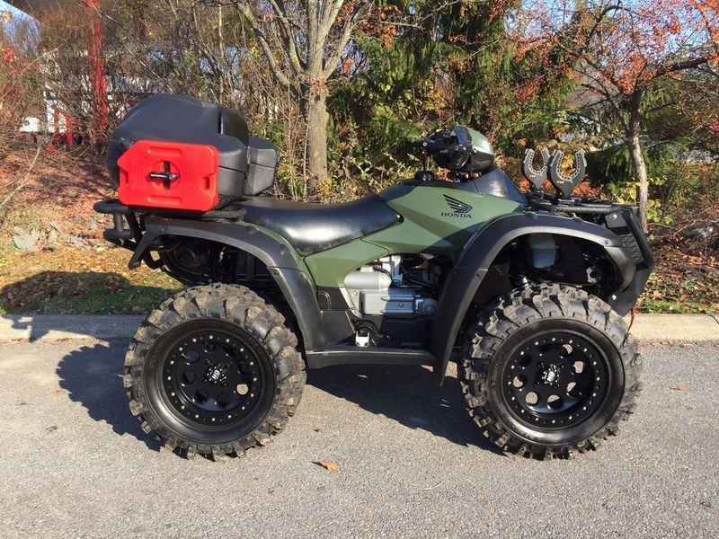 Used 2013 Honda FourTrax Rincon ATVs For Sale in Pennsylvania on ATV ...