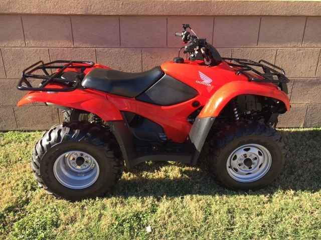 Used 2013 Honda Rancher 420 ES 4X4 ATVs For Sale in Texas on ATV Trades