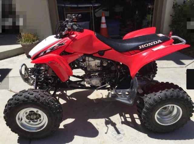 used 2013 honda trx 450r atvs for sale in california on atv trades. Black Bedroom Furniture Sets. Home Design Ideas