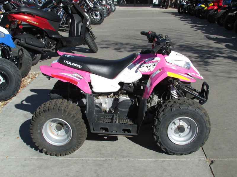 Polaris Outlaw 50 >> Used 2013 Polaris Outlaw 50 Pink Le Atvs For Sale In Colorado On Atvtrades Com