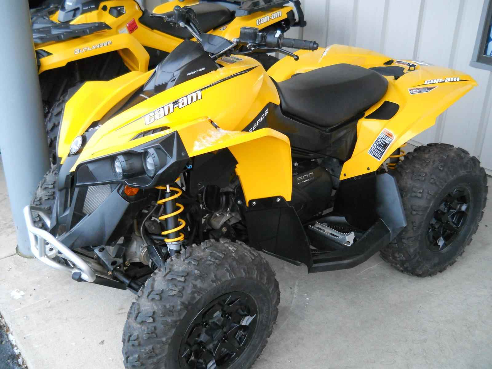 Used 2014 Can-Am RENEGADE 500 ATVs For Sale in Wisconsin on ATV Trades