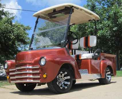 Used 2014 Gcw 47 Old Truck Custom Club Car Golf Cart ATVs For Sale In Illinois On ATV Trades