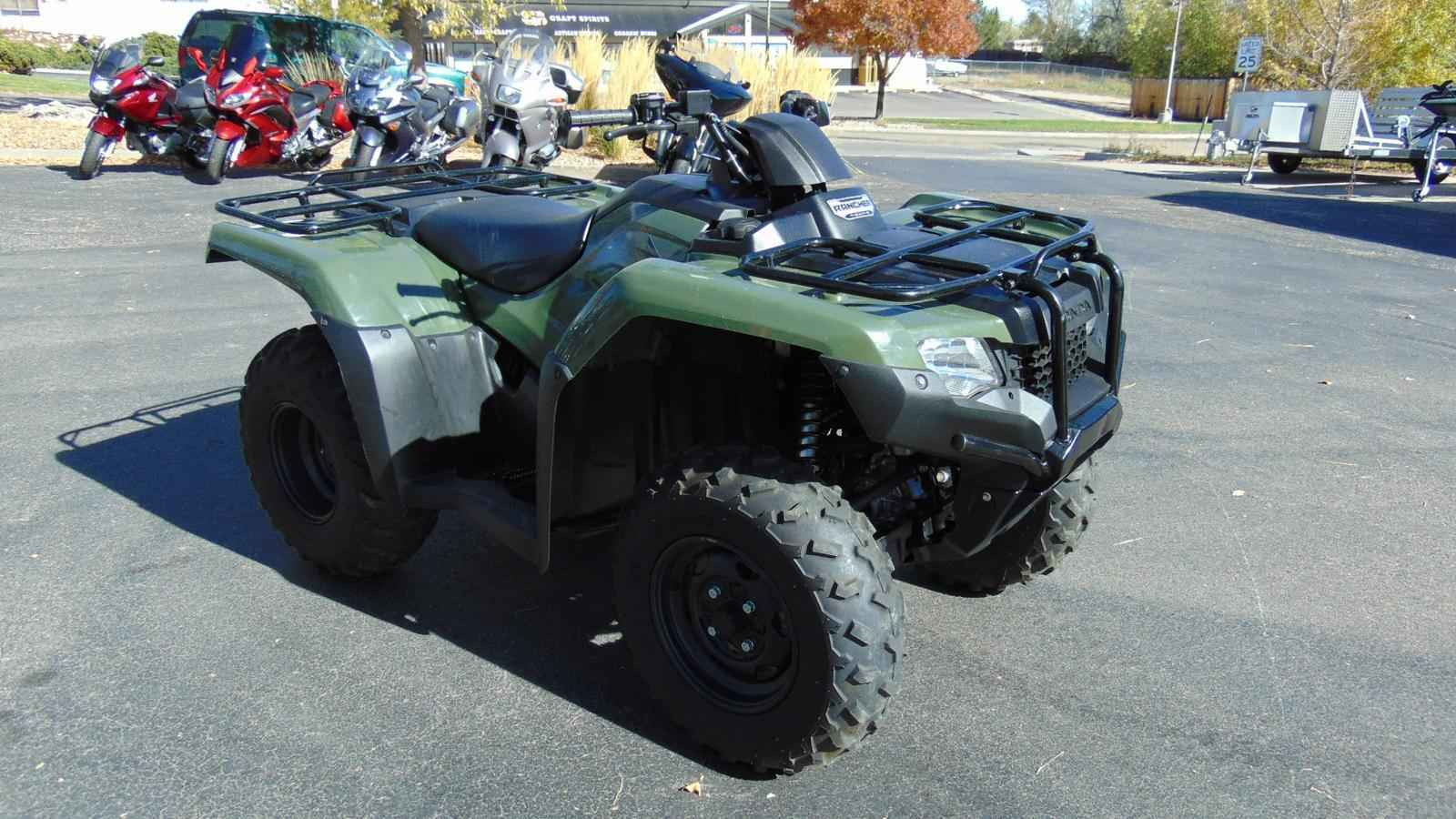 used 2014 honda fourtrax rancher 4x4 atvs for sale in colorado on atv trades. Black Bedroom Furniture Sets. Home Design Ideas