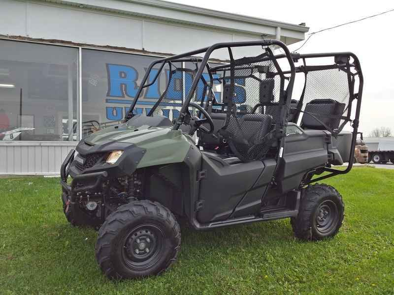 used 2014 honda pioneer 700 4 atvs for sale in illinois on atv trades. Black Bedroom Furniture Sets. Home Design Ideas