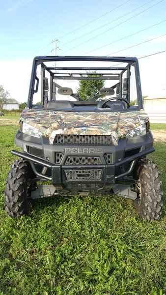 Used 2014 Polaris Ranger Crew 900 EPS Polaris Pursuit Camo ATVs For Sale in  Missouri on atvtrades com