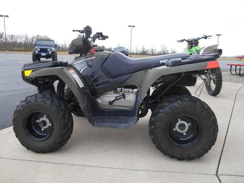 Used 2014 Polaris Sportsman 90 Sage Green ATVs For Sale in Ohio on  atvtrades com