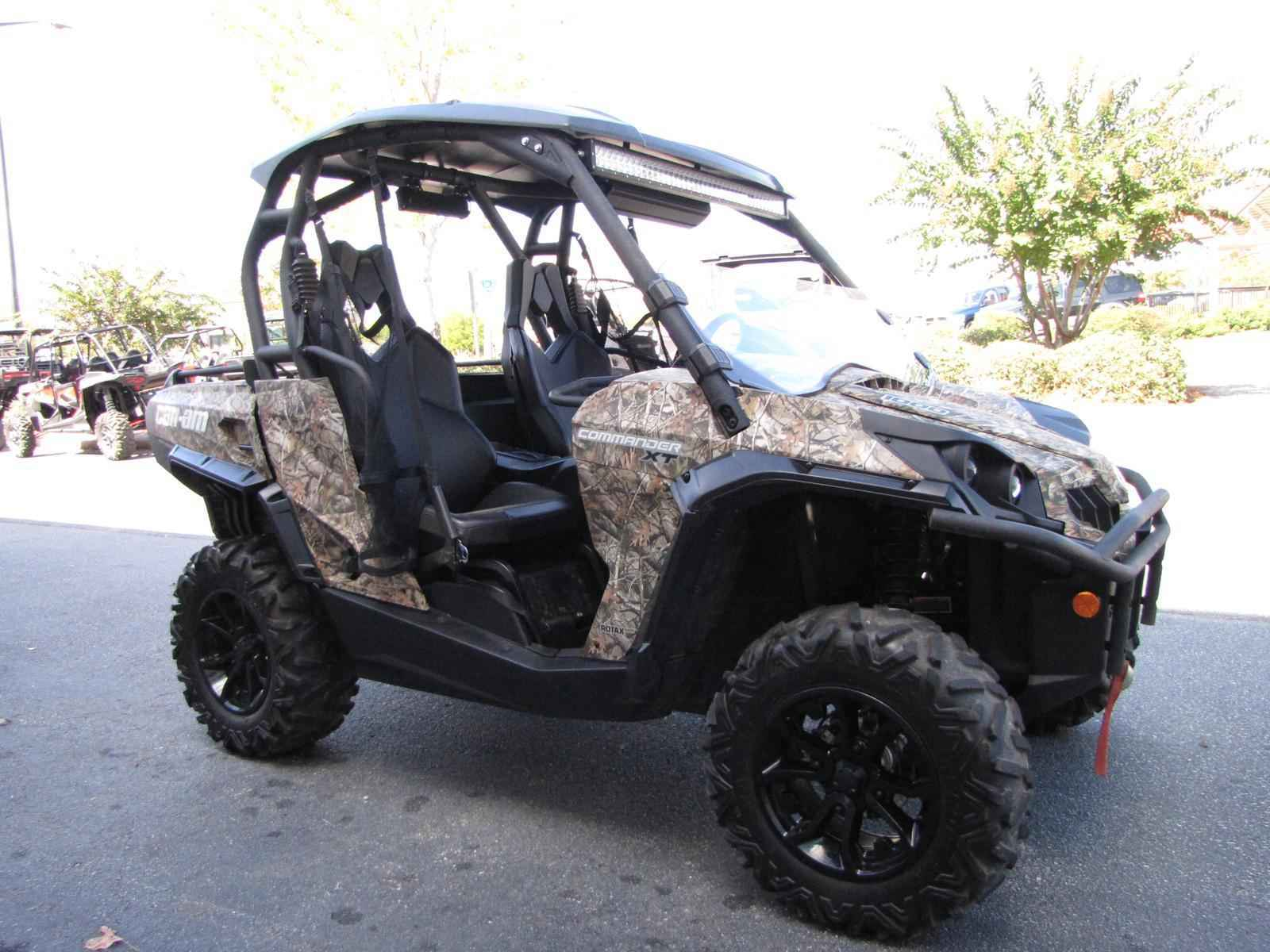 Used 2015 Can-Am Commander XT 1000 Camo ATVs For Sale in ...
