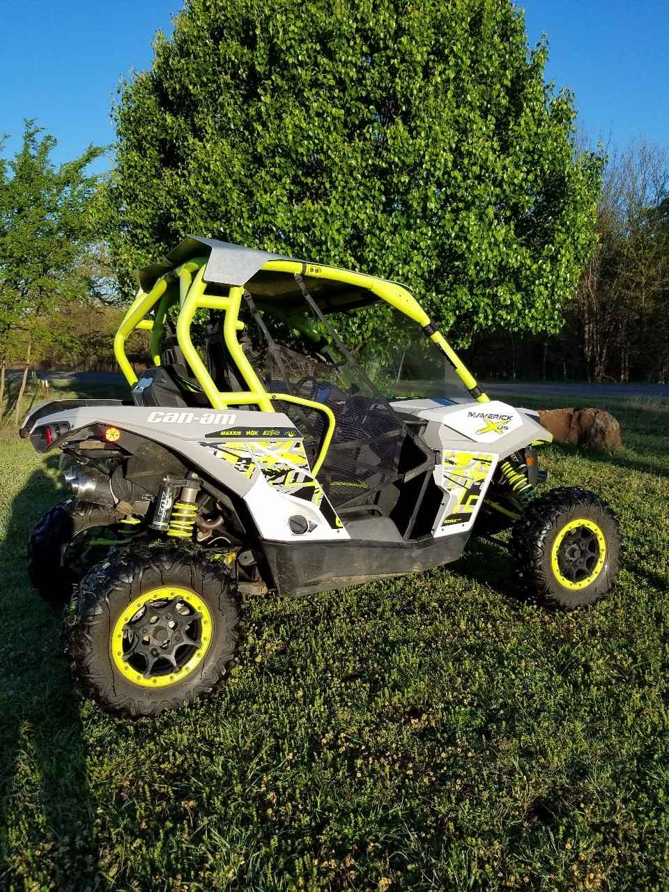 used 2015 can am maverick max x ds 1000r turbo atvs for sale in oklahoma on atv trades. Black Bedroom Furniture Sets. Home Design Ideas