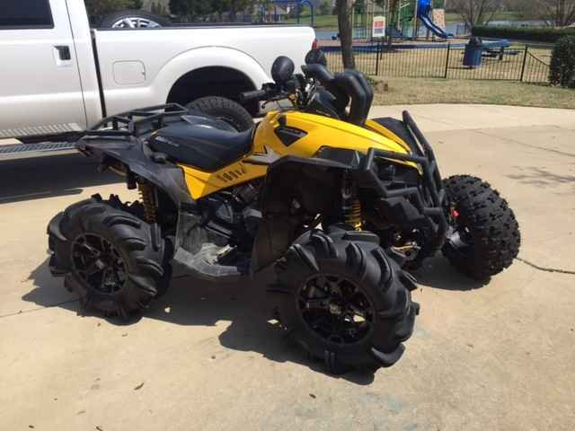 Can Am Renegade For Sale >> Used 2015 Can Am Renegade X Xc 1000r Atvs For Sale In Texas On Atvtrades Com