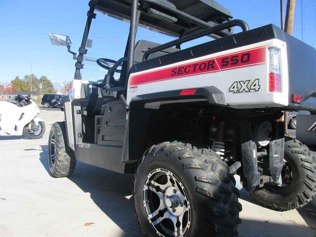 Used 2015 Hisun Sector 550 4x4 ATVs For Sale in Georgia on atvtrades com