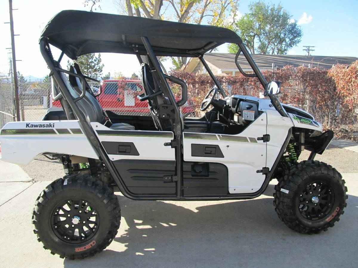 used 2015 kawasaki krt800cff teryx4 limited edition atvs for sale in colorado on atv trades. Black Bedroom Furniture Sets. Home Design Ideas