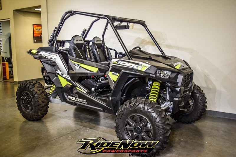 Used 2015 Polaris RZR XP 1000 EPS Fox Edition Turbo Silver ATVs For Sale in  Arizona on atvtrades com