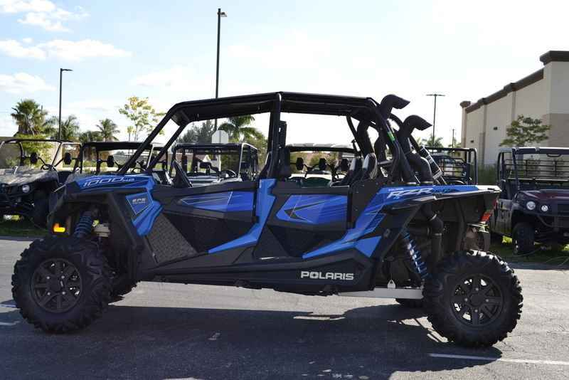 Used 2015 Polaris RZR XP 4 1000 EPS Voodoo Blue ATVs For Sale in Florida on  atvtrades com