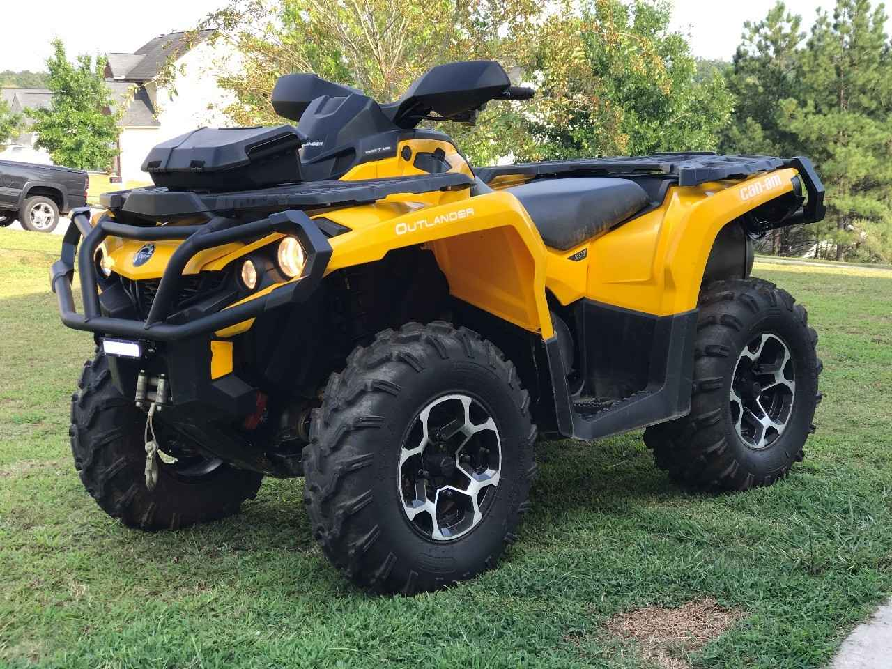 Used 2016 can am outlander xt 850 atvs for sale in georgia for Yamaha atv for sale used