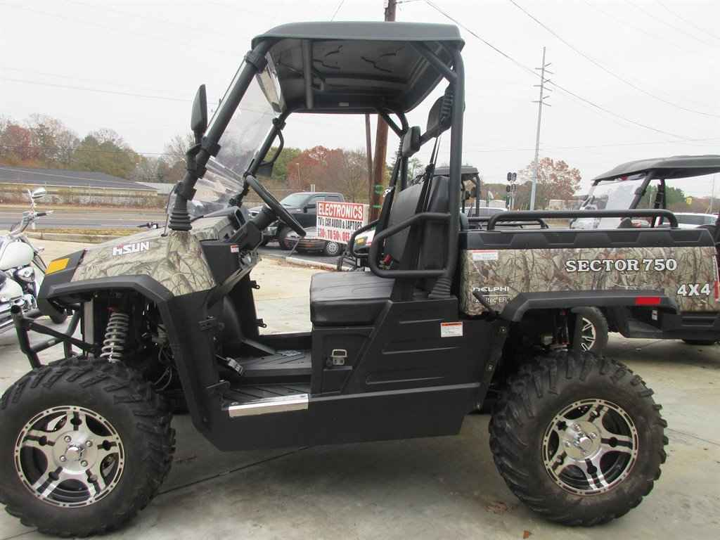 used 2016 hisun sector 750 4x4 atvs for sale in georgia on atv trades. Black Bedroom Furniture Sets. Home Design Ideas