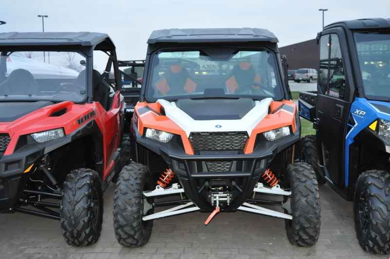 Used 2016 Polaris General 1000 Eps Deluxe Orange Burst Atvs For In Minnesota 19 299