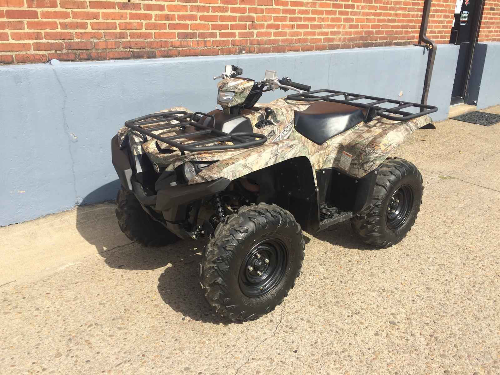 Used 2016 Yamaha Grizzly 700 4x4 Realtree Atvs For In Pennsylvania 7 690