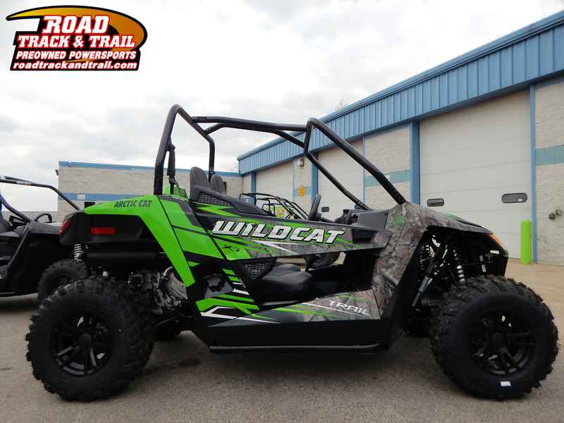 Used 2017 Arctic Cat Wildcat Trail Xt Eps Camo Atvs For In Wisconsin On Atv Trades