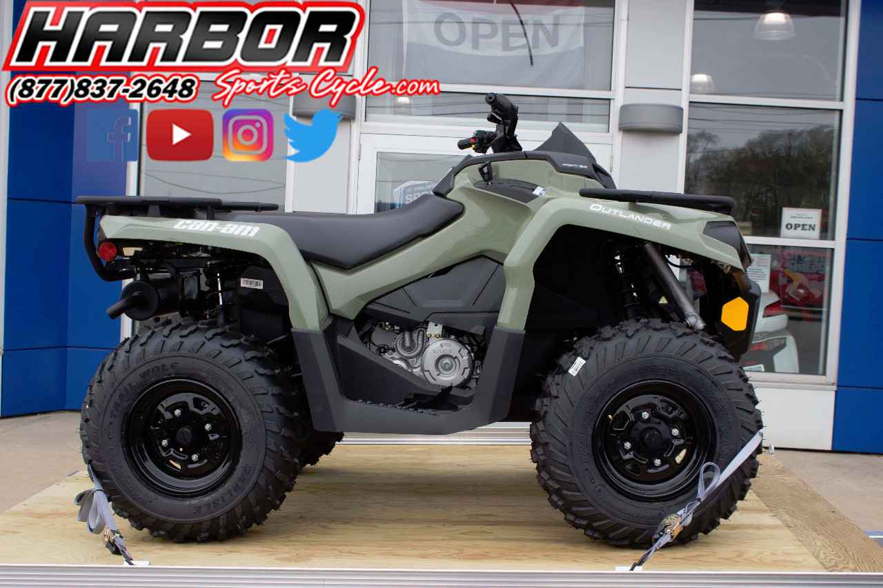 Used 2017 Can Am Outlander 450 W Trailer Atvs For In Michigan 6 650