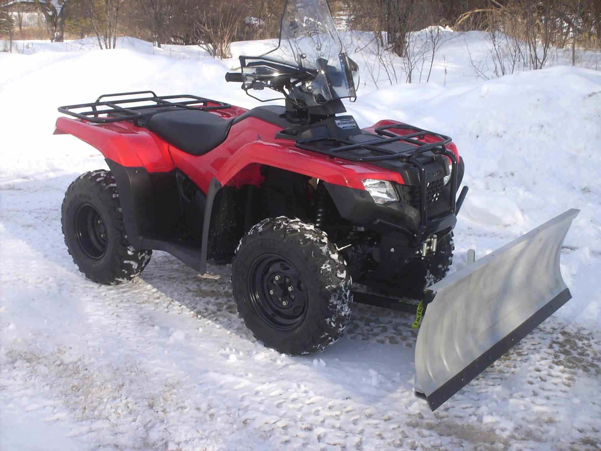 used 2017 honda fourtrax rancher 4x4 es atvs for sale in wisconsin on atv trades. Black Bedroom Furniture Sets. Home Design Ideas